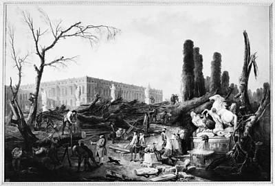 Change Painting - Versailles Gardens, C1775 by Granger