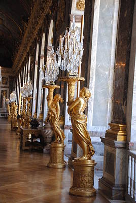 Photograph - Versailles Hall Of Mirrors by Jacqueline M Lewis