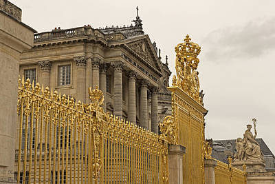 Photograph - Versailles Inner Gate  by Hany J