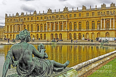 Photograph - Versailles Reflection by Elvis Vaughn