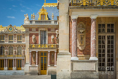 Europa Photograph - Versailles Splendor by Inge Johnsson