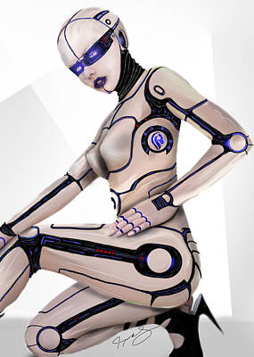 Future Tech Digital Art - Version 2.0 by Jeremy Martinson