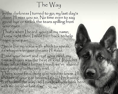 version two  The Way Art Print