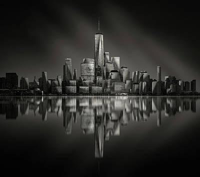 Broadway Wall Art - Photograph - Vertex by Jie Chen