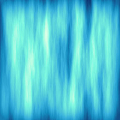 Digital Art - Vertical Blue Flames Background by Valentino Visentini