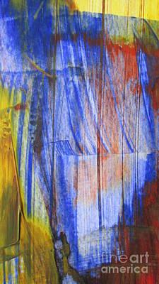 Destiny Painting - Vertical Horizons by Omar Hafidi