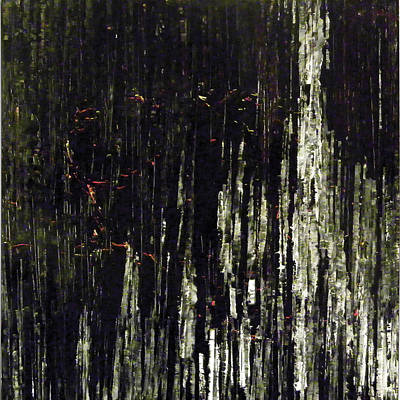 Abstract Painting - Vertical Process by Ian Smith