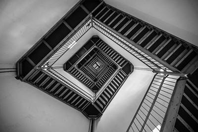 Of Stairs Photograph - Vertigo by Kristopher Schoenleber