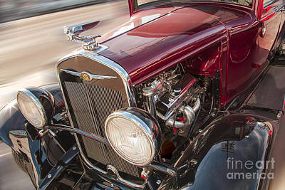 Photograph - Very Cool Vintage 1930 Chrysler Hot Rod  by Jerry Cowart