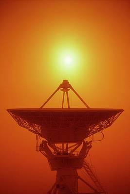 San Agustin Photograph - Very Large Array Radio Antenna by Kaj R. Svensson