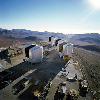 Chilean Photograph - Very Large Telescope (vlt) by European Southern Observatory