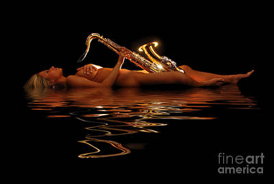 Saxophone Photograph - Very Saxy by Jt PhotoDesign