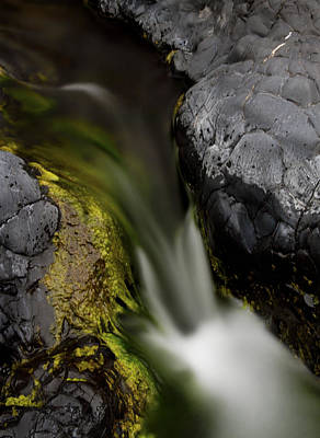 Sean Rights Managed Images - Very Small Falls At Bear Hole Royalty-Free Image by Robert Woodward