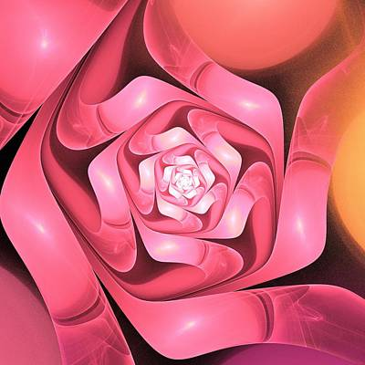 Blooming Digital Art - Very Special by Anastasiya Malakhova