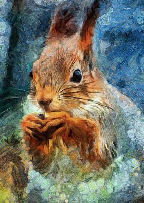 Pet Portraits Digital Art - Very Tasty by Yury Malkov