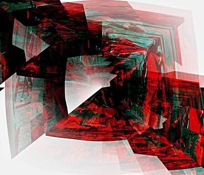 Kunst Mixed Media - Verzahnungen by Klaas Hartz