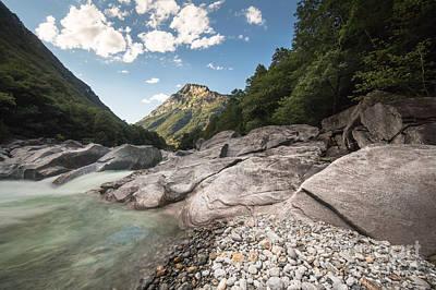 Photograph - Verzasca River by Maurizio Bacciarini