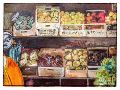 Photograph - Vespa Veggies by Susan Garren
