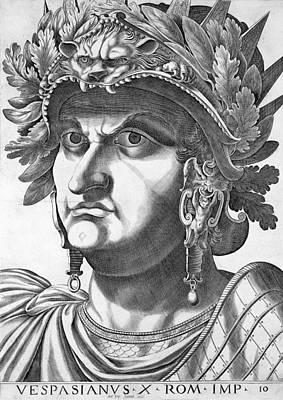 Oak Drawing - Vespasian , 1596 by Italian School