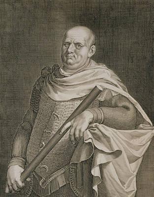 Vespasian Emperor Of Rome 69-79 Ad Art Print by Titian