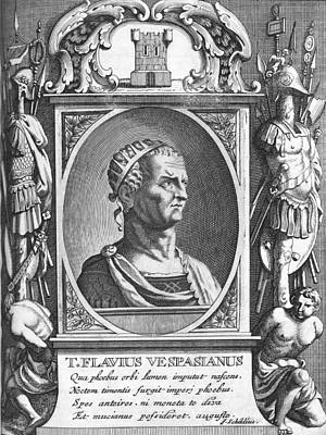 Vespasian, Roman Emperor Art Print by Science Photo Library