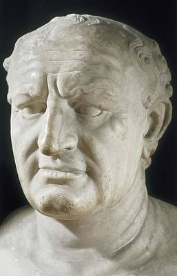 Vespasian, Titus Flavius Vespanius Art Print by Everett