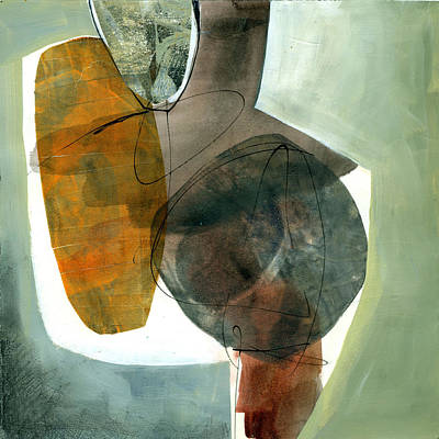 Abstracted Painting - Vessel 2 by Jane Davies