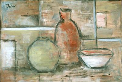 Painting - Vessels I by Trish Toro