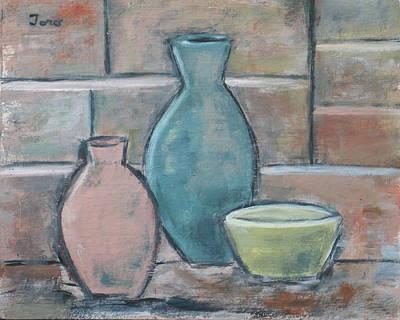 Painting - Vessels II by Trish Toro
