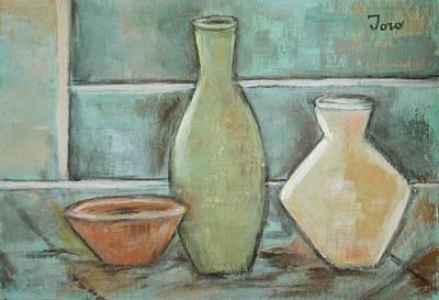Painting - Vessels Ill by Trish Toro