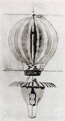 Photograph - Vessels Of The Air, 1783 by Science Source