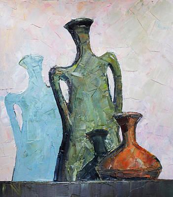 Vessels Art Print by Vladimir Naryzhny