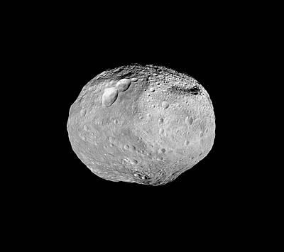 Vesta Asteroid Art Print by Nasa/jpl-caltech/ucla/mps/dlr/ida