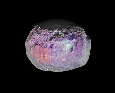 Vesta Asteroid Art Print by Nasa/jpl-caltech/ucla/mps/dlr/ida/psi