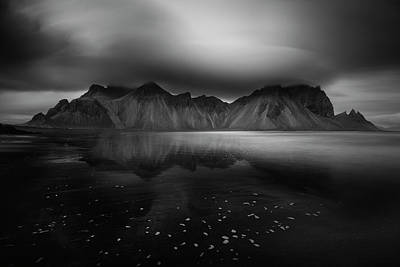 Iceland Wall Art - Photograph - Vestrahorn, A Perspective by Swapnil.
