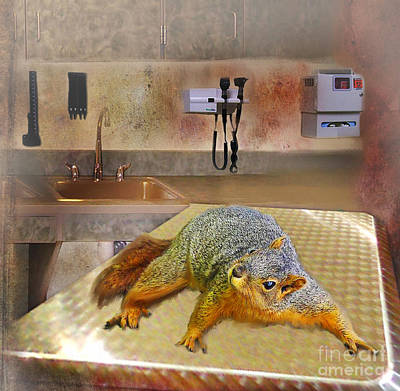 Digital Art - Vet Office by Lisa Redfern
