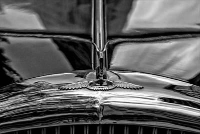 Albert Bierstadt - Veterans Day NYC 11_11_14 Vintage Car by Robert Ullmann