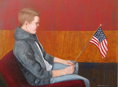 Painting - Veterans Day by Robert Harrington