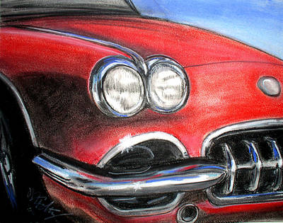 Painting - Vette by Michael Foltz
