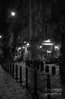 Photograph - Via Dei Tribunali by Marion Galt