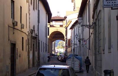 Via San Gallo In Florence Art Print