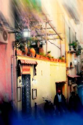 Italian Pottery Photograph - Via Tasso Sorrento by Diana Angstadt
