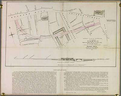 Viaduct Near Fetter Lane Art Print by British Library
