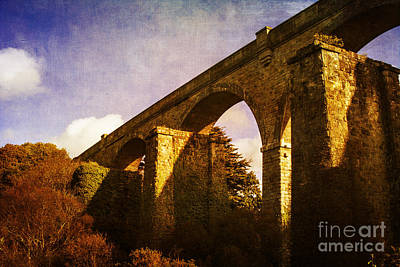 Photograph - Viaducts by Brian Roscorla