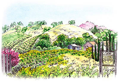 Science Collection - Viano Winery Martinez California by Irina Sztukowski