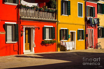 Photograph - Vibrant Burano by Prints of Italy