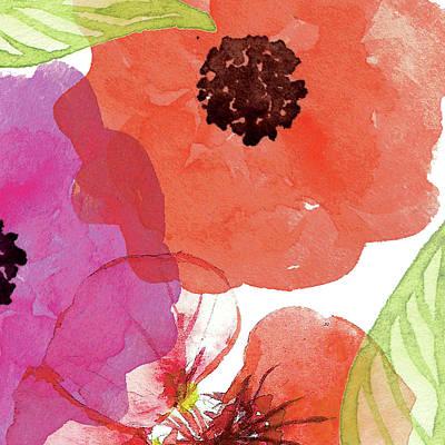 Orange Poppy Painting - Vibrant Floral Iv by Tammy Apple