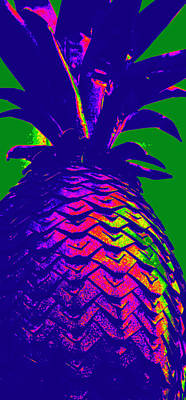 Vibrant Pineapple Original by Laurie Pike