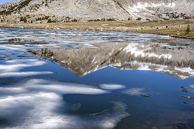 Magnificent Mountain Image Photograph - Vibrant Reflection by Joseph S Giacalone