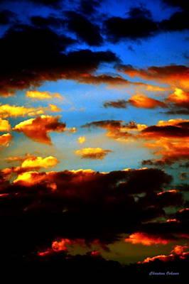 Cloudscape Photograph - Vibrant Sunrise by Christina Ochsner